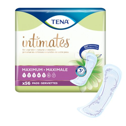 TENA Intimates™ Maximum Absorbency Incontinence Pads, Regular Length, 54267