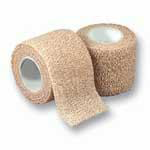 "Dukal Cohesive Self Adherent Wrap Bandage Tan 2""x5yds 8025T"