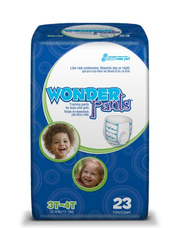 WonderPants Training Pants, Large 3T-4T WP8001/1