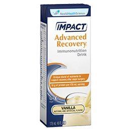 Impact Advanced Recovery Vanilla 6oz - Bebida de apoyo inmunológico
