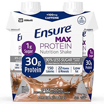 Ensure Max Protein, Cafe Mocha 11oz 66893