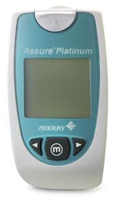 ASSURE PLATINUM Glucose Test Strips/Meter Kit