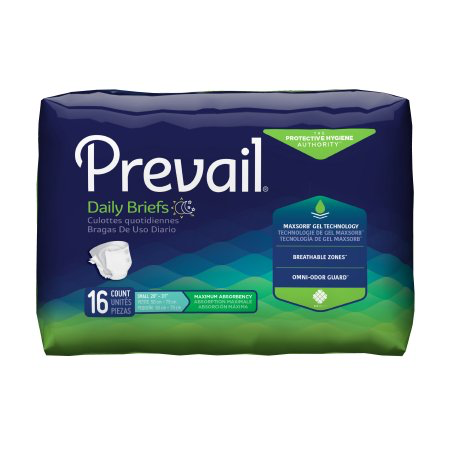 Prevail Adult Incontinence Brief, Small, Heavy Absorbency