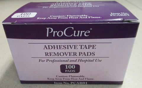 Adhesive Tape Remover Pads - PCAR01