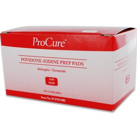 Povidone Iodine (Betadine Substitute) Prep Pads