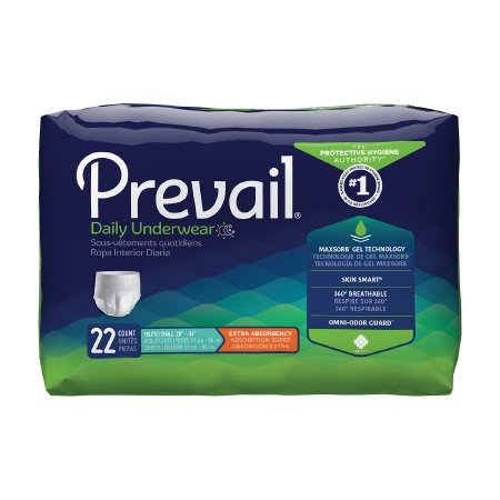 Prevail Daily Underwear, Youth/Small, Moderate Absorbency