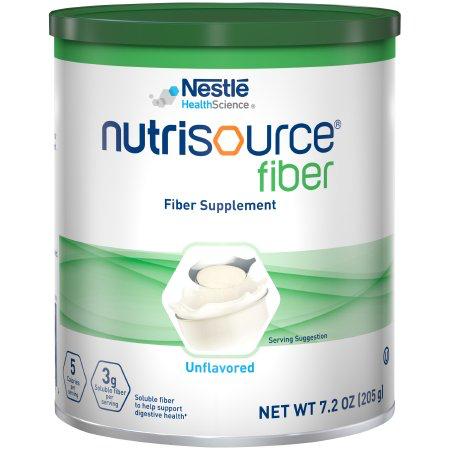 Nutrisource Fiber by Nestle - Unflavored Powder - 7.2 oz Canister