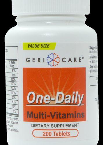 Multi-Vitamin Tabs (One-A-Day Substitute)