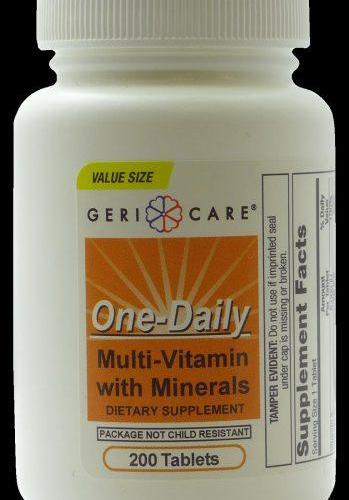 Multi-Vitamin Tabs W/Minerals (Centrum Substitute)