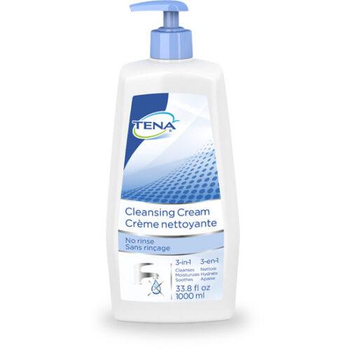 TENA® Cleansing Cream, Scented, 33.8oz. Pump Bottle, 64435