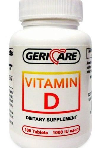 Vitamin D (D3) 1000 IU Tablets
