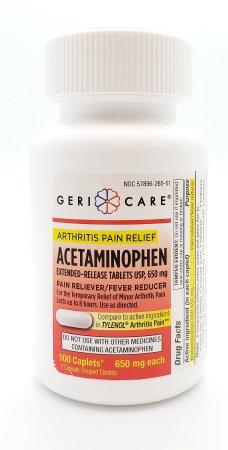 Arthritis Pain Relief (Tylenol Arthritis Substitute) 650mg