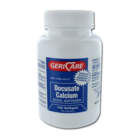 Docusate Calcium, 240mg (Surfak Substitute)