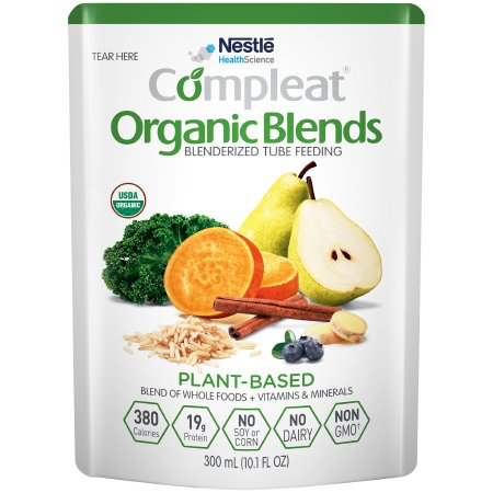 Nestle Compleat Organic Blends - Plant Blend Flavor - 10.1oz Container - 4390019270