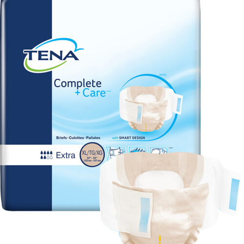 TENA Complete +Care™ Incontinence Brief, Moderate Absorbency, X-Large, 69980