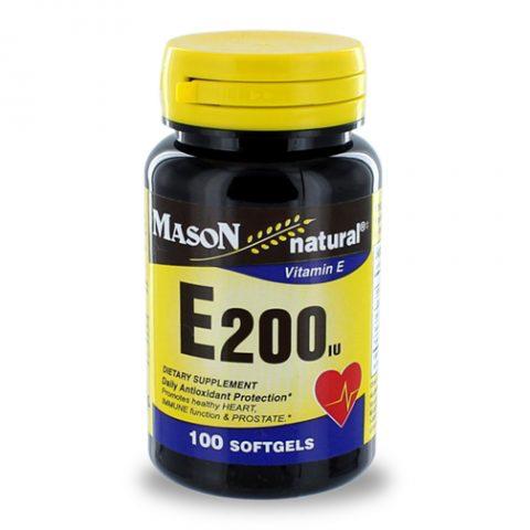 Vitamin E-200IU Softgels