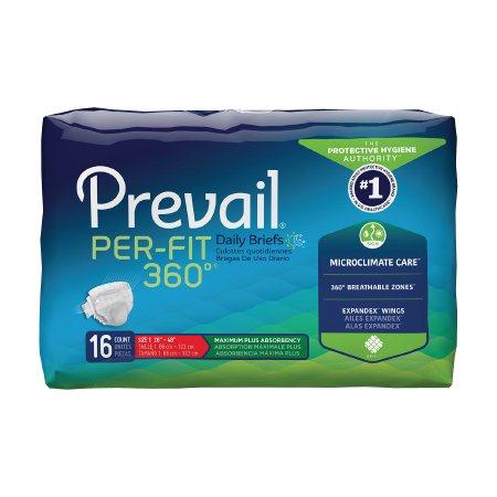Prevail Per-Fit 360 Adult Brief, Medium, Heavy Absorbency