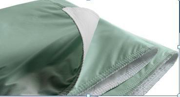 """Underpad Green 29""""x35"""" Cotton/Poly 8oz, UP3436TW"""