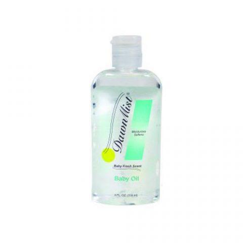 Dukal Dawn Mist Baby Oil, 4 oz Bottle, Scented Oil BA3312