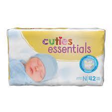 Cuties Baby Diapers Newborn CR0001